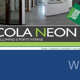 Piccola Neon snc, nuovo sito on-line