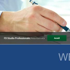 Online il sito di FD Studio Professionale