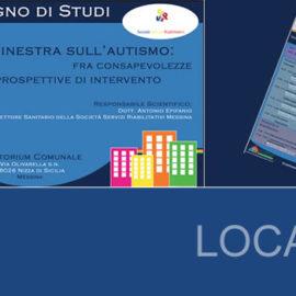 Locandina per convegno sull'autismo