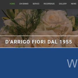 D'Arrigo Fiori, il nuovo sito è online