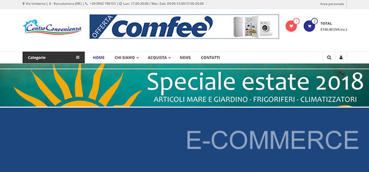 E-commerce per Centro Convenienza