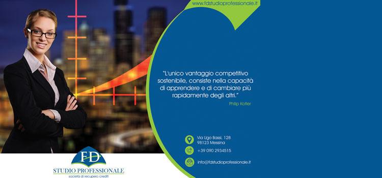 Brochure aziendale per FD Studio Professionale Srl